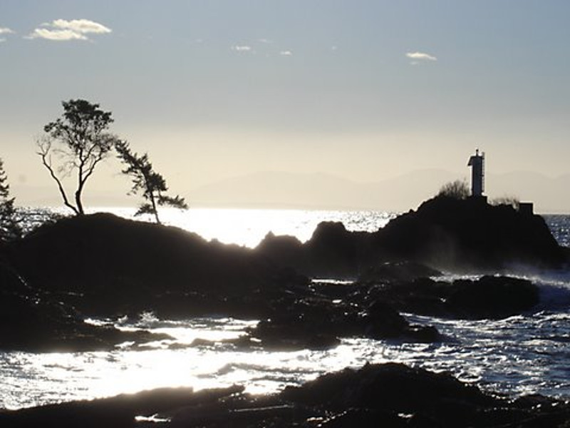 The iconic Lighthouse at Cape Roger Curtis