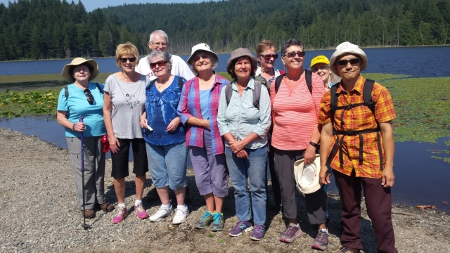 2015-August: The Elders Council for BC Parks outing at Killarney Lake