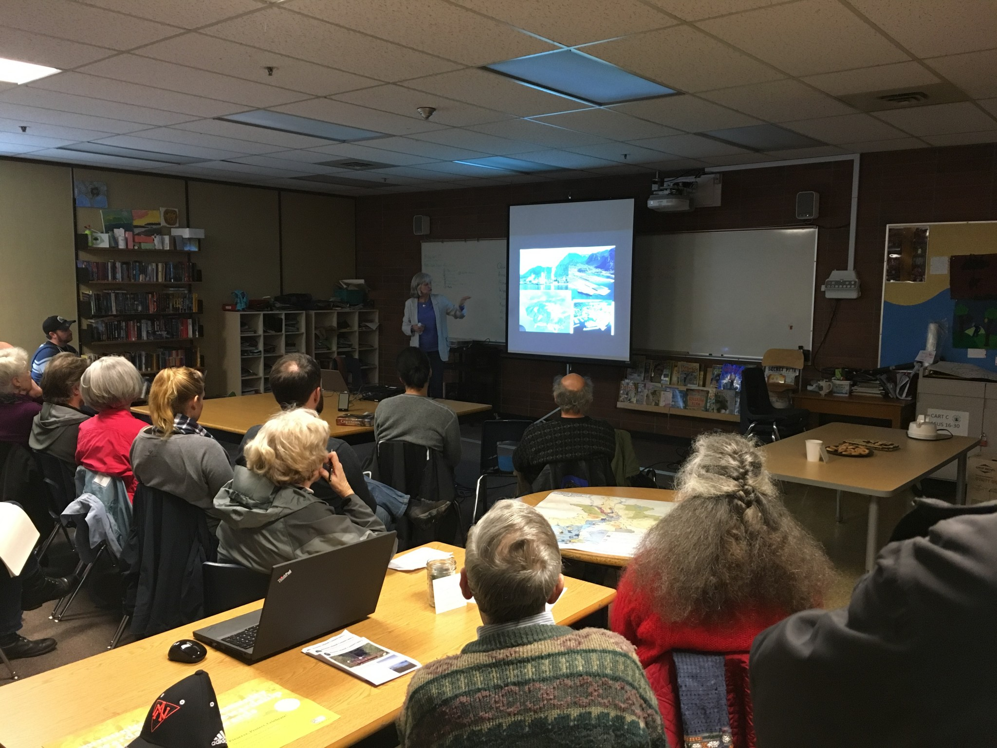 Ruth Simons talks about the Howe Sound UNESCO Biosphere Initiative