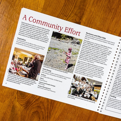 The chapter on Community Efforts to put the Atlas together
