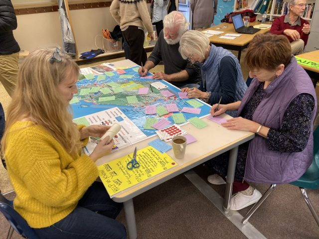 Community members telling their stories abour our Marine environment