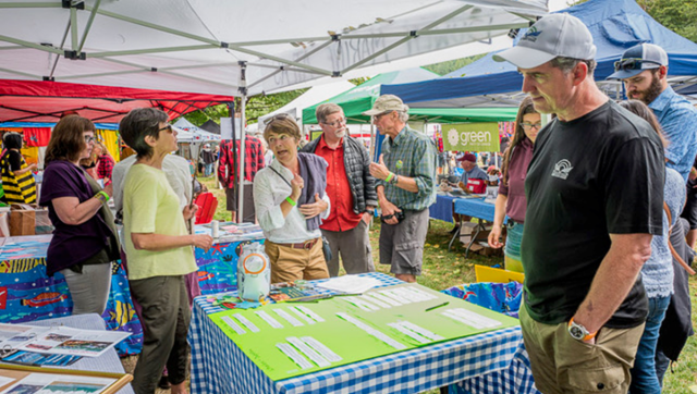The Marine Atlas tent at Bowfest 2019