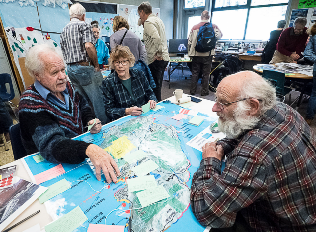 Contributing to the Marine Atlas at the October 2019 Open House