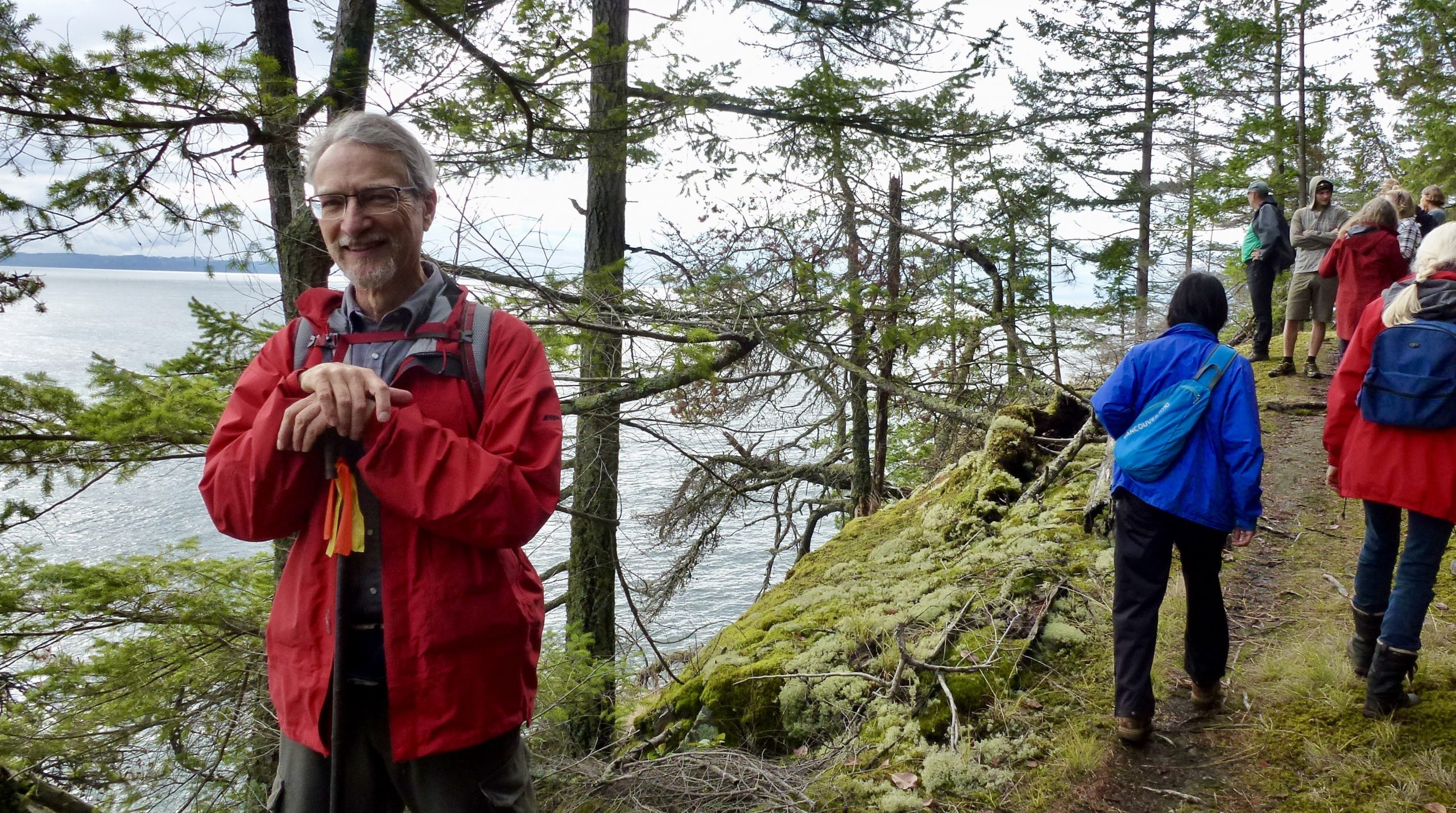 Alan Whitehead, our tour guide